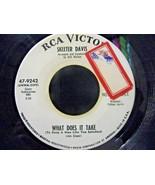 Skeeter Davis-What Does It Take / What I Go Thru-45rpm-1967-EX  *Promo - $7.43