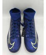Nike Mercurial Superfly 7 Academy MDS TF INDOOR Soccer Cleats BQ5435-401... - $55.94