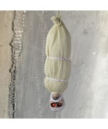 Horror Hanging Mummy Red Eyes Scary Sound Moving Halloween Party Decorat... - $99.20