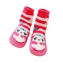 Cute Toddler Baby Non-Slip Slipper Floor Socks Children's Shoes Socks 1 Pair, Ca