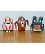 Transformers BOTBOTS Mini Action Figure Lot Hasbro CACKLE CORN LACEFACE ... - $15.10