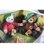 Steiff Nimrod Teddy Bear Camping Set, Boxed, Limited Edition, 1983, West Germany - $165.00