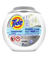 Tide Hygienic Clean Free Power PODS, Laundry Detergent Pacs, 42 Ct - $69.00