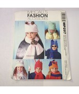 McCall's P297 Children's Hats Scarves and Mittens - $11.64