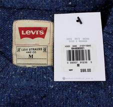 Levi's Men's Premium Classic Wool Sweater Blue 644590001 image 5