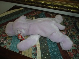 Ty Original Beanie Buddy Collection Happy Hippo with Tag and Protector 0... - $58.00