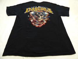 Motorcycle XL Daytona Bike Week Beach T shirt 2007 Skull Knife Gun Dice ... - $14.53