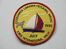 COACHMEN CARAVAN,FRYEBURG MAINE,1990,23RD INTERNATIONAL RALLY,SAILING RA... - $23.75