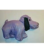 Limited Too Microbead Puppy Dog Glitter Purple Pillow Plush Stuffed Anim... - $57.99