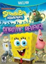 SpongeBob SquarePants: Plankton's Robotic Revenge - Nintendo Wii U [vide... - $12.44