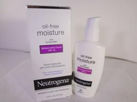 Neutrogena Oil-Free Moisture SPF 35 2.5 fl oz *READ* [HB-N] - $10.40