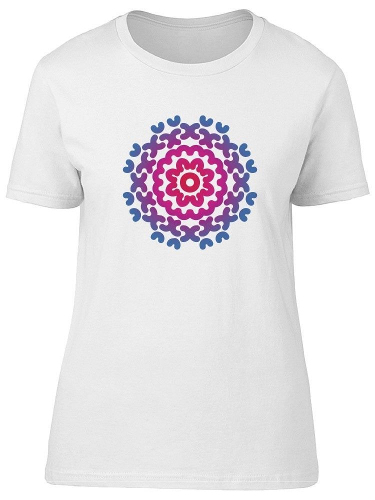 Primary image for Watercolor Abstract Flowers Women's Tee -Image by Shutterstock