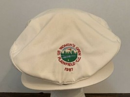 Vintage 1987 US Women's Open Plainfield CC Golf HAT White - $28.04