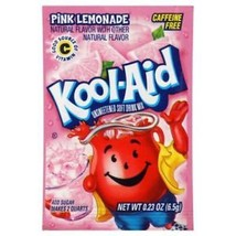 Kool-Aid Drink Mix Pink Lemonade 10-.23 oz Packets - $3.91