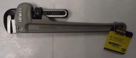 "Irwin Vise Grip 2074114 14"" Cast Aluminum Pipe Wrench - $31.68"