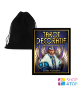 Tarot Decoratif Cards Deck Book and Bag US Games Systems Marchetti - $64.58