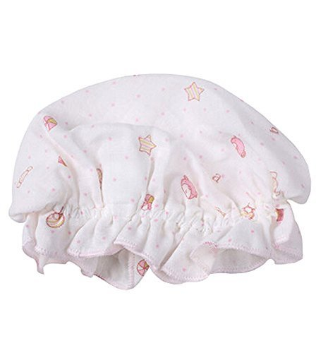 Summer Baby Hats/Caps Double Pure Cotton Cloth Caps [Pink 3290]