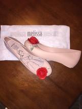 Melissa Beauty and the Beast Disney Rose Slipper 8 from Aulani Resort - $71.28