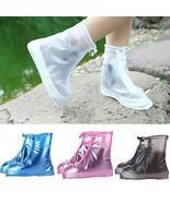 Silicone Rain Shoes Cover Rain Shoes Protector Anti-slip TkEasymx (S, Co... - $19.80