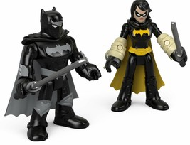 Fisher-Price Imaginext DC Super Friends Black Bat & Ninja Batman - $19.99