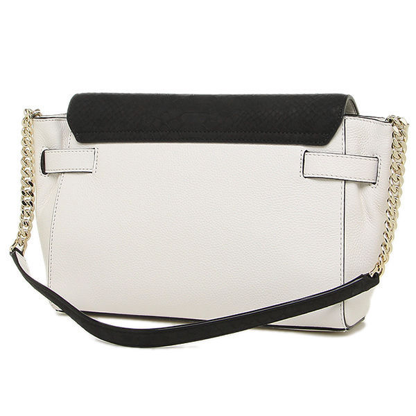 new KATE SPADE montrose place SHANTEL handbag white & black leather purse bag