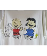 Size L Vintage 80's/90's Charlie Brown Peanuts Snoopy T Shirt - $24.25