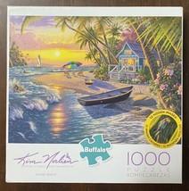 Buffalo Games - Kim Norlien - Sunset Beach - 1000 Piece Jigsaw Puzzle w/... - $10.74