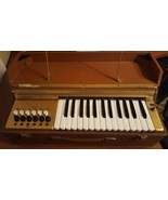 Vintage Organ Companion ORCOA Made In Italy 50S Portable  - $139.58