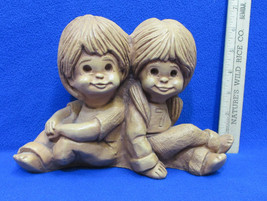Bill Mack Frannykins Perfect Pair Figurine Sitting Back to Back Boy Girl... - $14.84