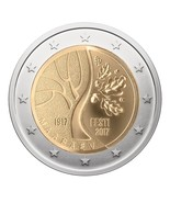 Estonia 2017 eur coin Estonia's road to independence coincard, UNC - $18.73 CAD