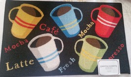 """Kitchen Accent Rug (Nonskid Back) (17"""" X 28""""), 5 Coffee Types, Rec, By Ee - $16.82"""