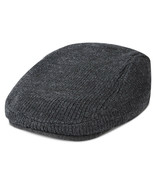 NEW MENS TOMMY HILFIGER CHARCOAL GREY IVY CAP HAT ONE SIZE - $19.79