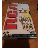 RCA VHS Blank Recording Tape 6 hours Factory sealed T-120H - $5.93