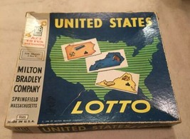 Vintage Board Game United States Lotto - $14.25