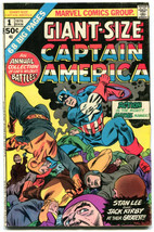 Giant Size Captain America 1 GVG 3.0 Marvel 1975 Stan Lee Jack Kirby - $8.90