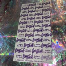 Lisa Frank Incomplete Sticker Sheet Penguins Pianos Music Notes Some Of The 1st! image 3