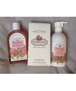 Crabtree & Evelyn Rosewater Hand Therapy, Body Cream, Shower Gel  3 Pc Gift Set - $69.30