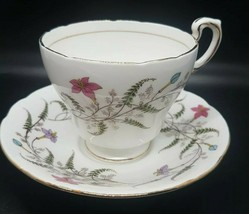 Paragon Tea Cup & Saucer by Appt to Her Majesty the Queen Floral Pink Bo... - $22.99