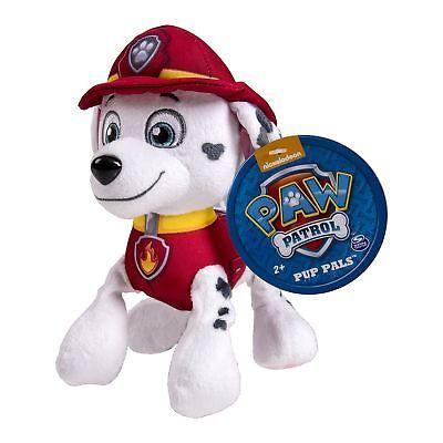 Nickelodeon Paw Patrol - Plush Pup Pals- Marshall