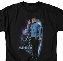 Star Trek Spock T-shirt Retro TV series Original graphic tee CBS907 image 2