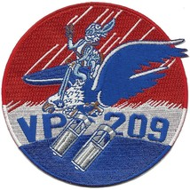 US Navy VP-209 Navy Patrol Squadron WWII Patch NEW!!! - $11.87
