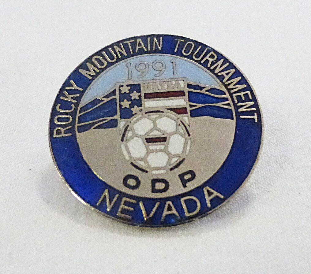 De Collection Vintage 1991 Rocky Mountain Tournoi Nevada Football Team Sports