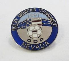 De Collection Vintage 1991 Rocky Mountain Tournoi Nevada Football Team Sports image 1