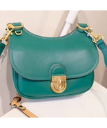 Tory Burch James Small Leather Saddlebag - $500.00