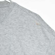 Calvin Klein Jeans Women's Gray Logo Crop Crew Neck Sweatshirt Size XS image 4