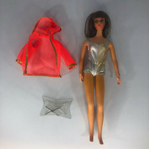 Vintage 1970 Dramatic New Living BarbieDoll Rare Mattel Dark Brown Hair - $296.99