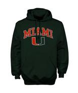 Miami Hurricanes Hoodie Sweatshirt University Jersey Decal T-Shirt Apparel  - $34.99