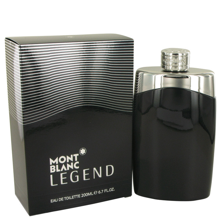 Mont Blanc Montblanc Legend Cologne 6.7 Oz Eau De Toilette Spray