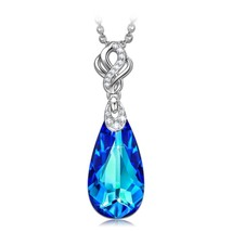 KATE LYNN An Encounter with Mermaid Women Water-drop Style Pendant with ... - $62.56