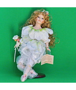 """19"""" Jam Lee Limited Edition Collectable Handcraft Porcelain Doll With Stand - $24.95"""